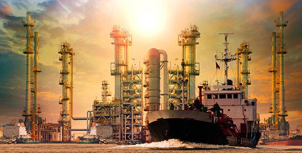 Marine LNG terminal